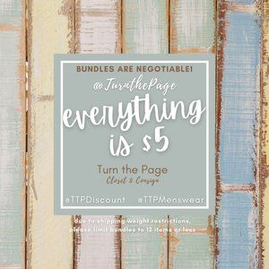 ⭐️ Check out my closet! 💥Everything is just $5!!